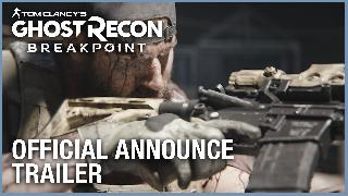 Tom Clancy's Ghost Recon Breakpoint - Official Announce Trailer Xbox One